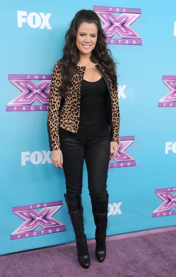 "At ""The X Factor"" season finale press conference at CBS Studios in Los Angeles."