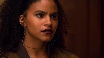 "ATLANTA Robbin' Season -- ""Champagne Papi"" -- Season Two, Episode 7 (Airs Thursday, April 12, 10:00 p.m. e/p) Pictured: Zazie Beetz as Van. CR: Guy D'Alema/FX"
