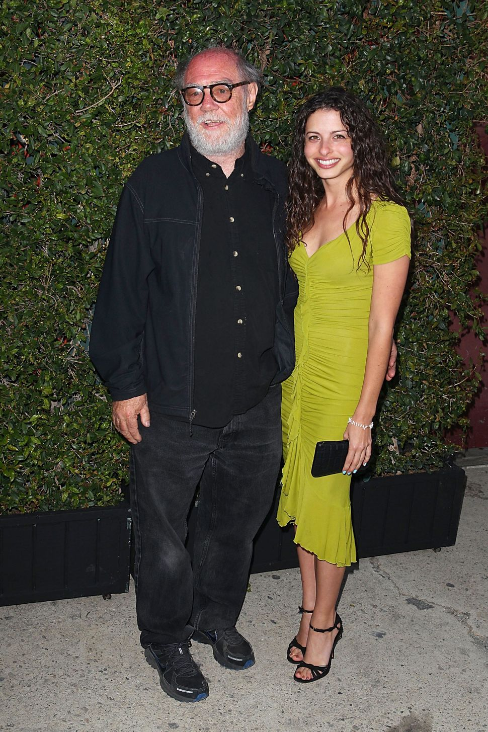 "Paul McCarthy and Elyse Poppers at MOCA Los Angeles presents ""Rebel"" exhibition opening and reception on May 12, 2012."