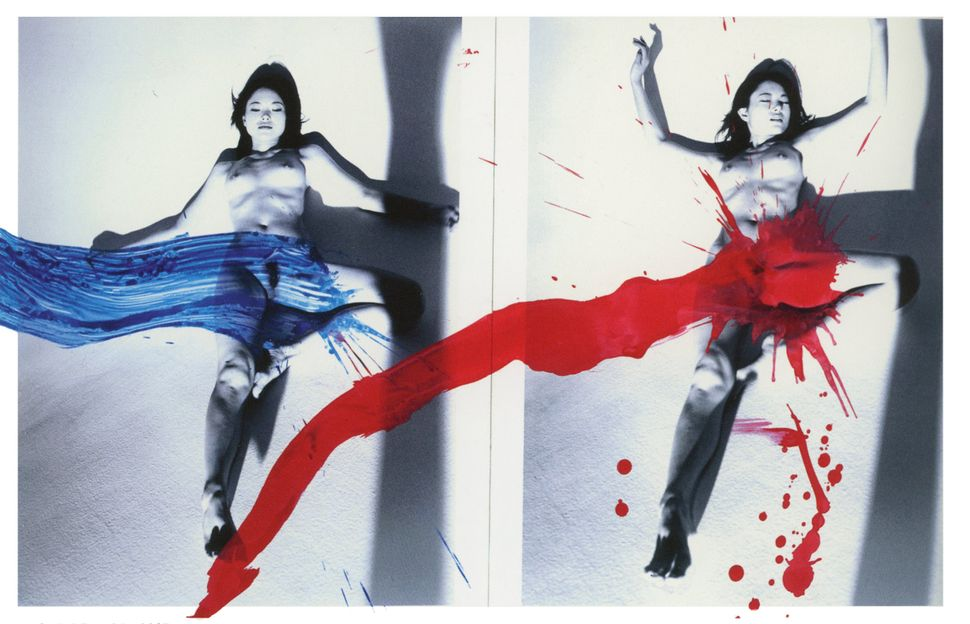 "Nobuyoshi Araki, ""KaoRi Love,"" 2007 (diptych)"