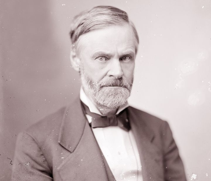 Sen. John Sherman (R-Ohio) wasthe principal author of the Sherman Antitrust Act, which gave the federal government tool
