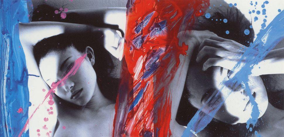 "Detail of Nobuyoshi Araki's ""KaoRi Love,"" 2007 (diptych), courtesy of a private collection."