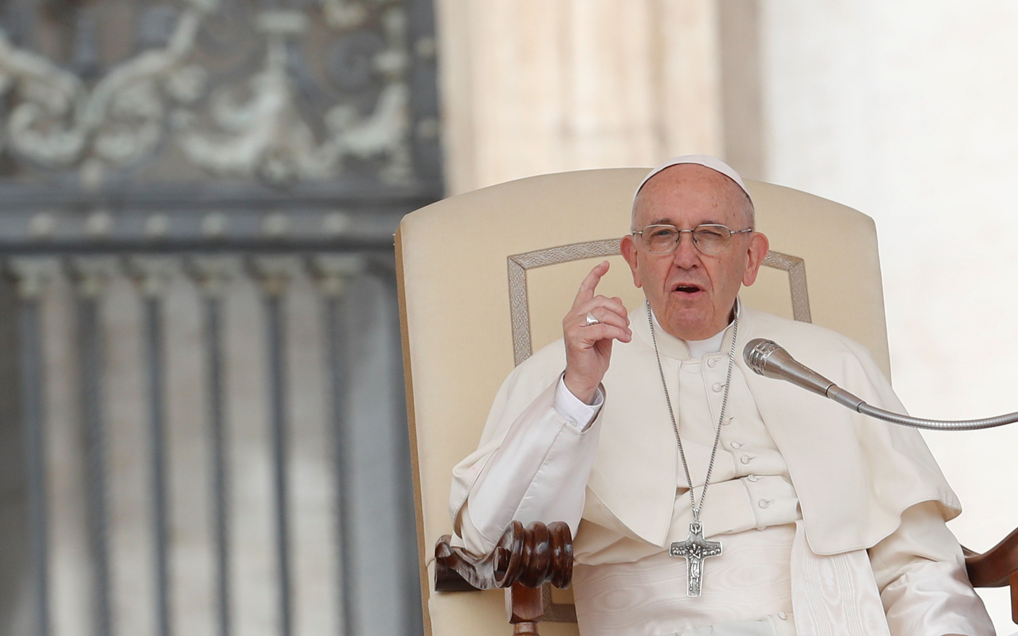 "Pope Francis wrote in a letter that he <a href=""https://www.huffingtonpost.com/entry/pope-admits-serious-mistakes-c"