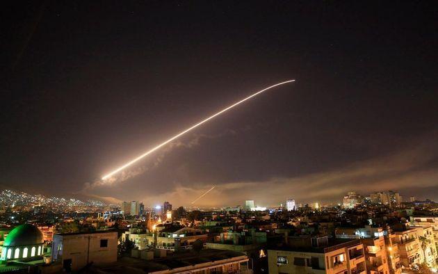 Les Etats-Unis, la France et le Royaume-Uni ont tiré plus de 100 missiles sur la