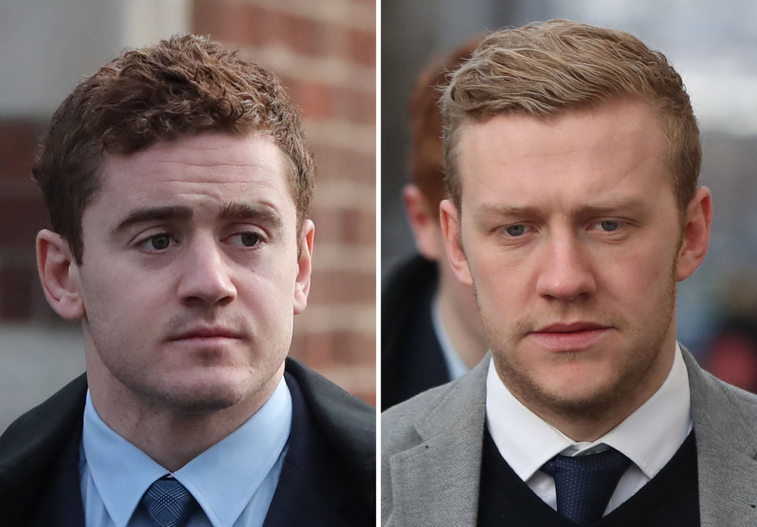 PA Wire  PA Images                   Paddy Jackson and Stuart Olding