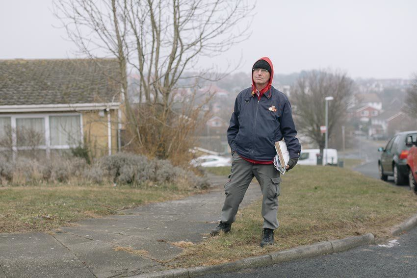 'You Work Like A Robot': A Postman And A Courier, A Generation Apart, On the Loss Of Human
