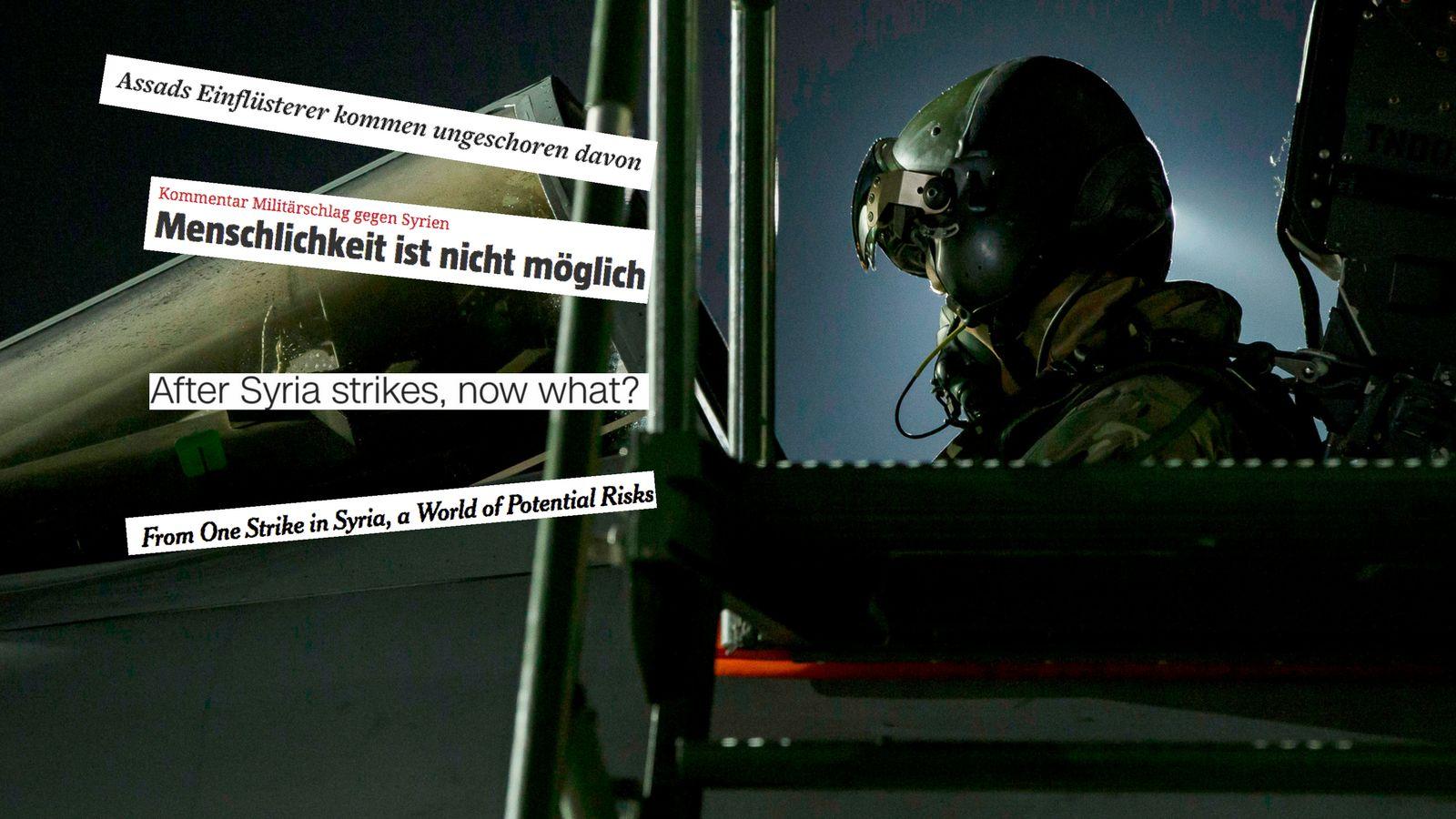 Die 4 größten Kritikpunkte der Medien am Militärschlag gegen Syrien