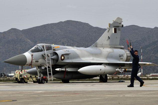 Εντοπίστηκε το μαύρο κουτί του Mirage 2000-5 σε βάθος 800