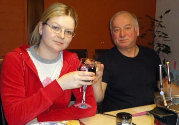 Sergei Skripal and daughter