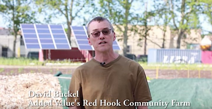 David Buckel, a volunteer forBrooklyn's Added Value Red Hook Community Farm, was featured in an educational<a hre