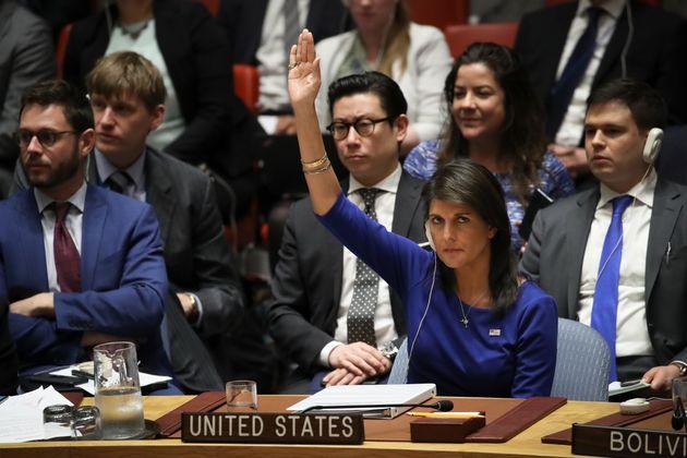 러시아가 낸 '시리아 공습 규탄 결의안'이 유엔 안보리에서