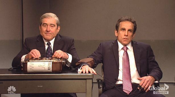 Robert DeNiro and Ben Stiller