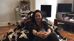 In der Wohnung dieser Frau stapeln sich mehr als 1000 BHs – für einen guten
