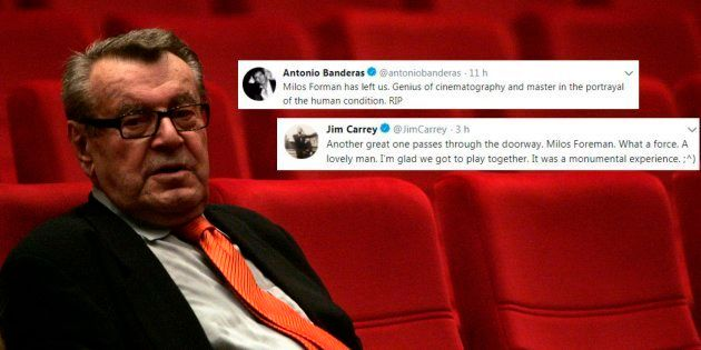 Mort de Milos Forman: Antonio Banderas, Jim Carrey et le monde du cinéma rendent hommage au