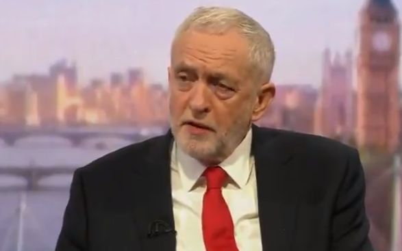 Jeremy Corbyn Claims Theresa May's Decision To Bomb Syria Is 'Policy Made Up By