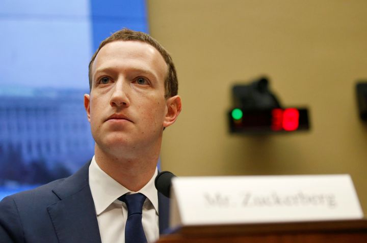 Facebook CEO Mark Zuckerberg testifies for a House Energy and Commerce Committee hearing regarding the company's use and prot