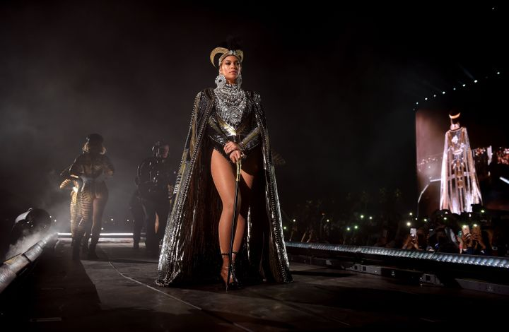 Beyonce Knowles performs onstage during 2018 Coachella Valley Music And Arts Festival.