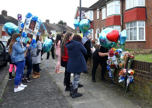 Hither Green: Family Of Stabbed Burglar Hold Birthday Vigil Outside House Where He
