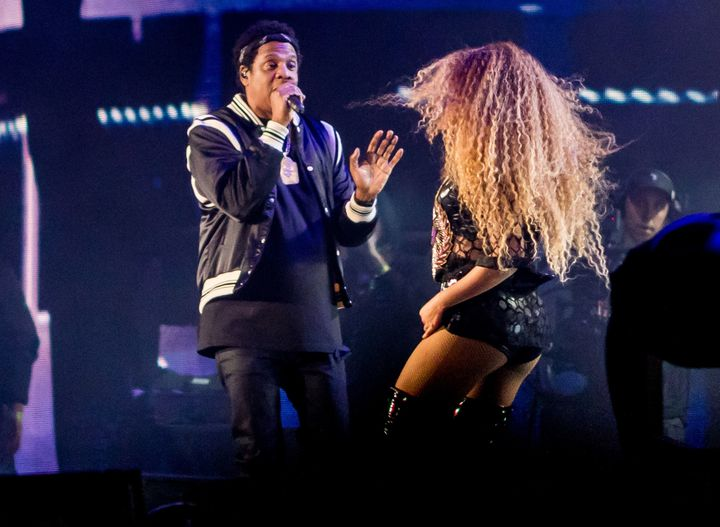 Beyoncé and husband Jay-Z take the stage Coachella Valley Music & Arts Festival.