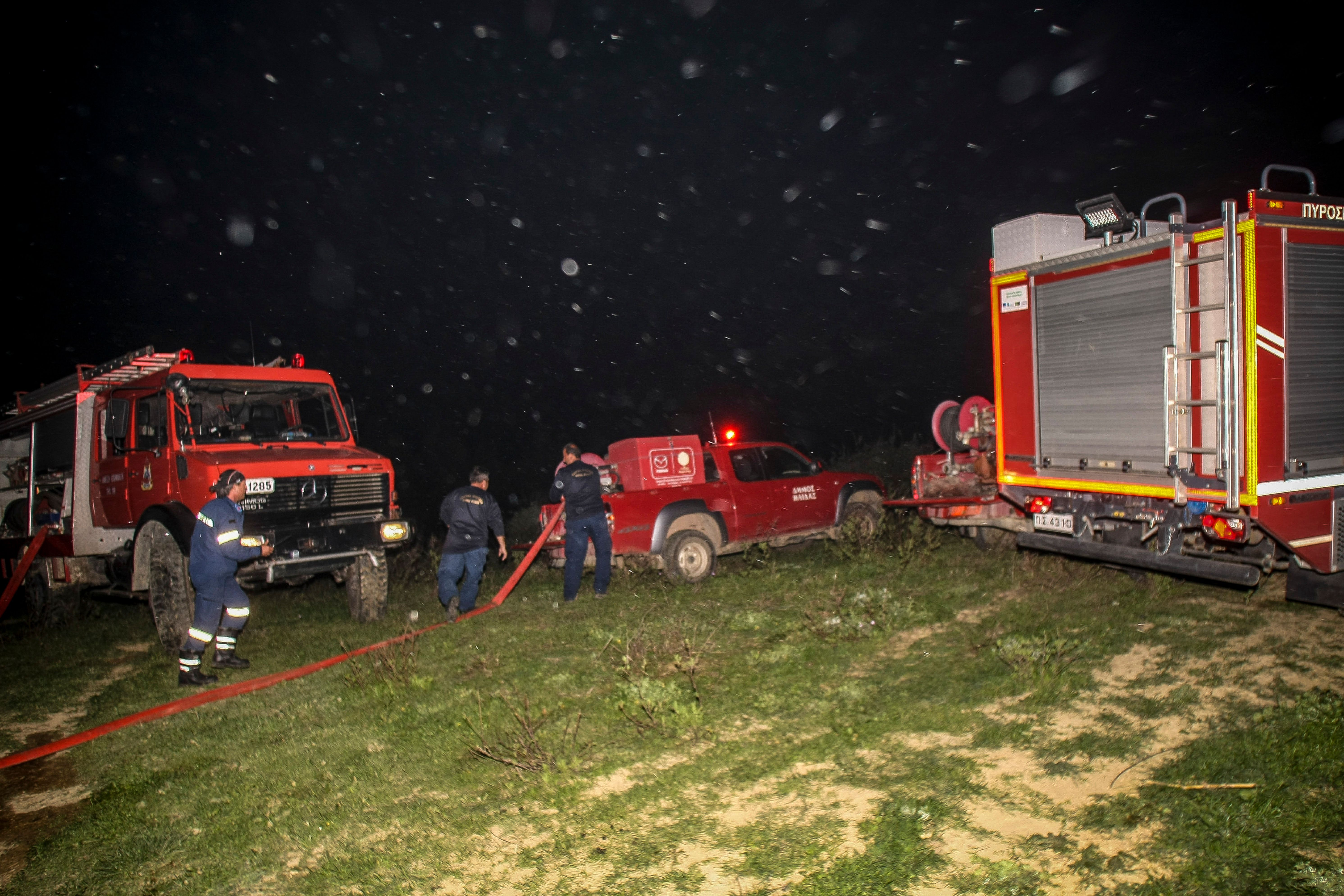 Τρεις πυρκαγιές στην Ηλεία και μία στην