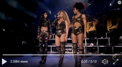 Beyoncé Treated Coachella Crowd To An Epic Destiny's Child Reunion