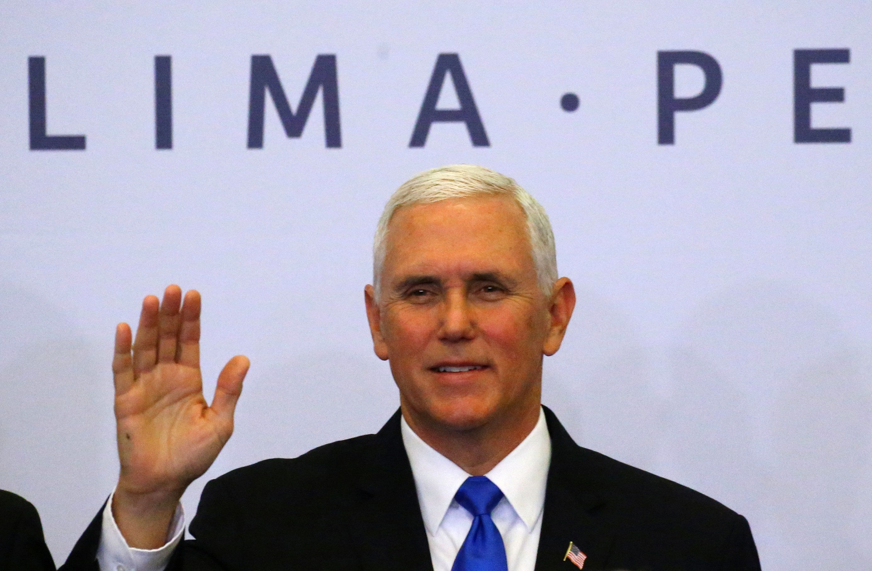 Mike Pence: Hes there hes here hes everywhere