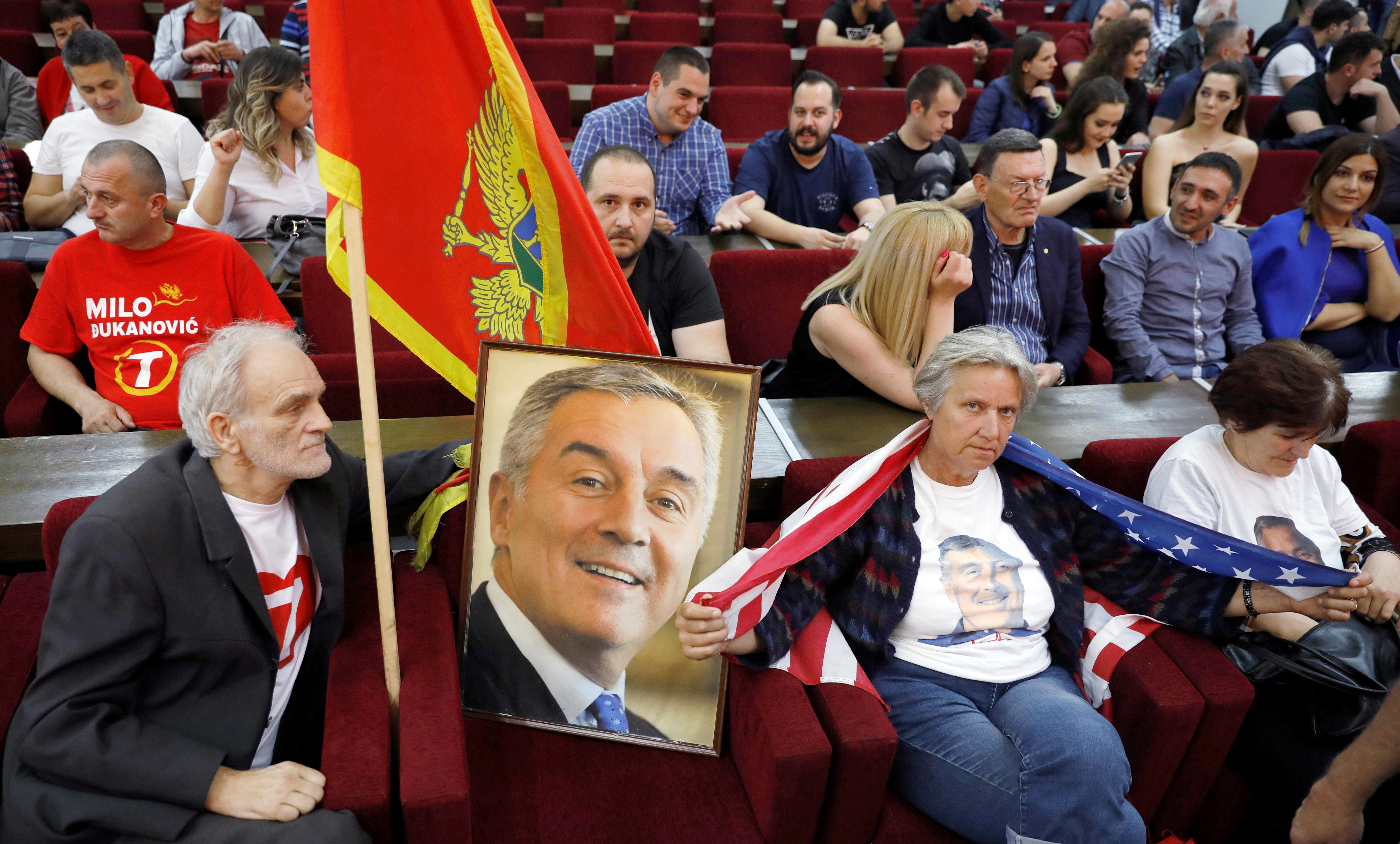 Πρόεδρος του Μαυρουβουνίου ξανά ο Μίλο Τζουκάνοβιτς, όπως ανακοίνωσε το κόμμα