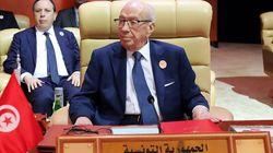 Béji Caid Essebsi annonce que la Tunisie accueillera le prochain Sommet arabe et appelle au