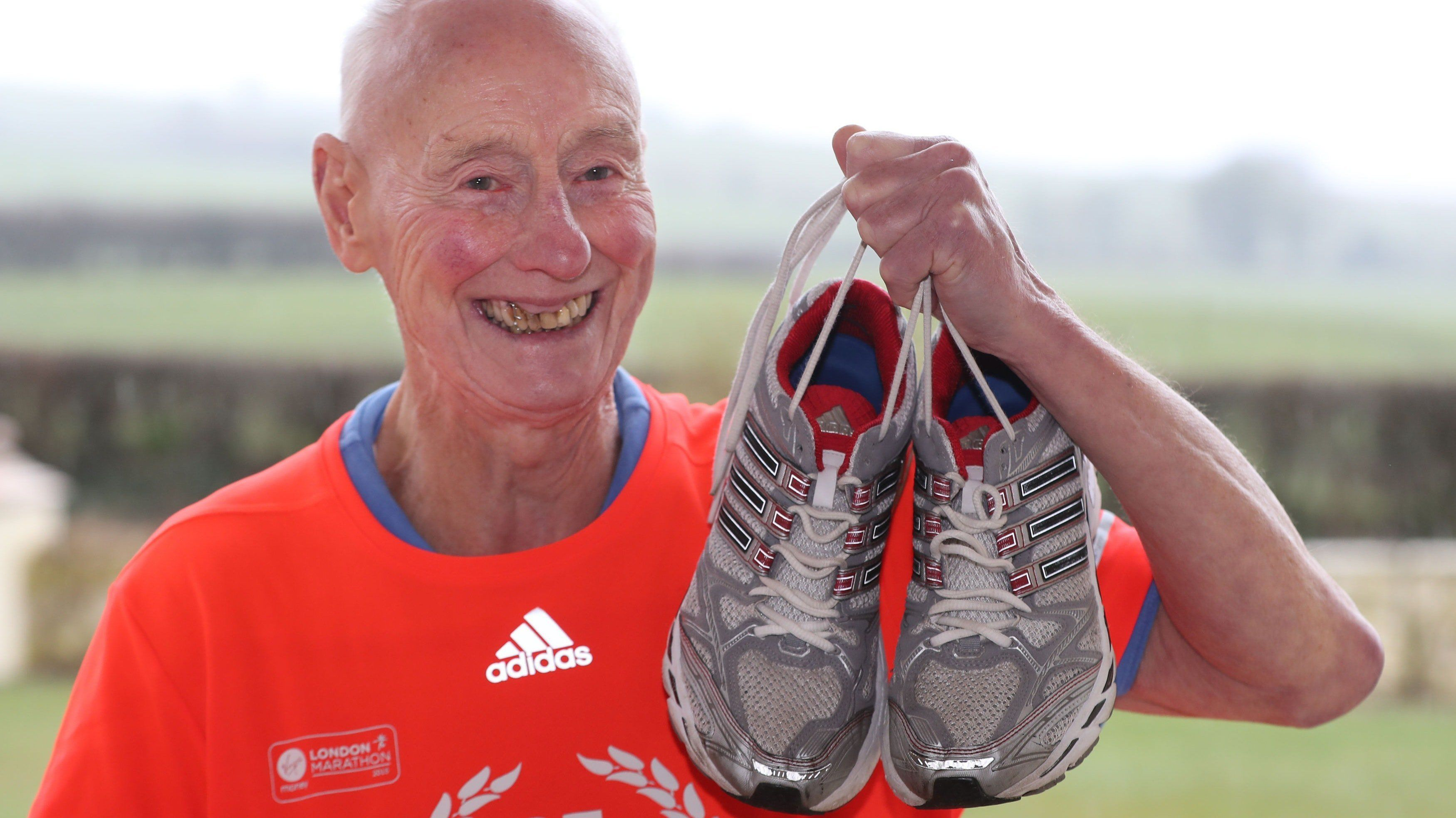 This 85-Year-Old Has Run Every London Marathon - And He's Not Stopping