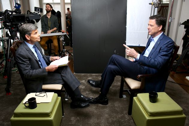 George Stephanopoulos interviewed Comey for ABC