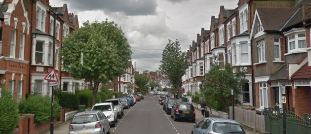 The incident occurred in Sudbourne Road, Brixton, on Sunday evening