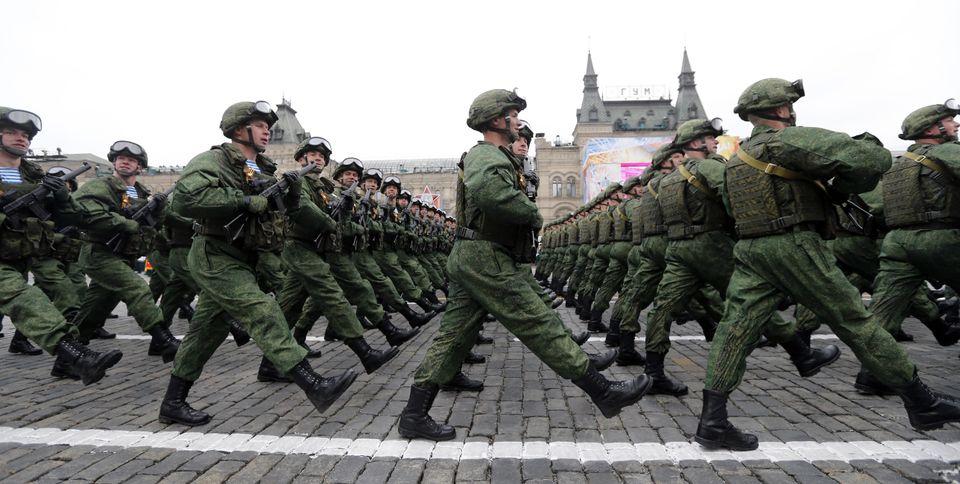 Militärparade in