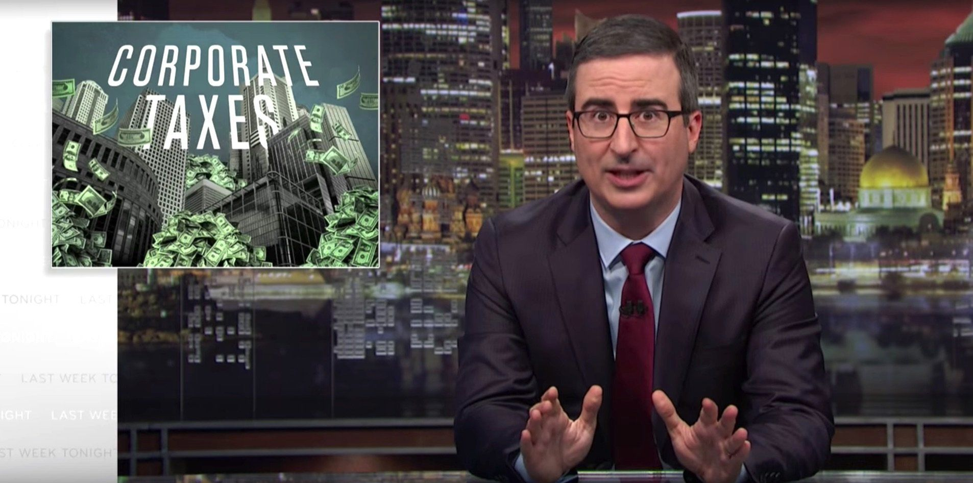 John Oliver Uses Tax Day To Show How Corporate America Is Screwing You Over