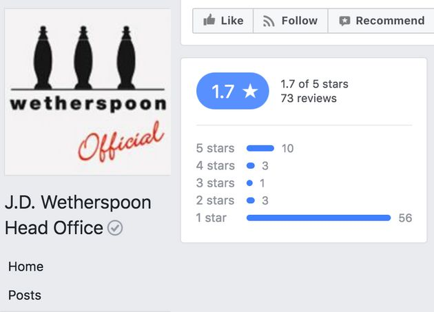 JD Wetherspoon Shuts Down All Social Media Accounts Following Trolling Of