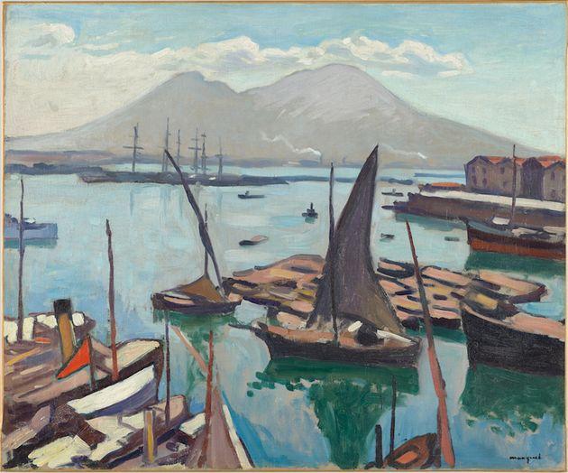 Albert Marquet, Le Port de Naples (1909). Huile sur toile, 635 x 765 cm, Collection Centre Pompidou