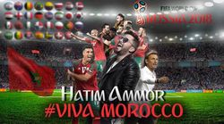 """Hatim Ammor s'apprête à dévoiler """"Viva Morocco"""" en soutien au Maroc"""