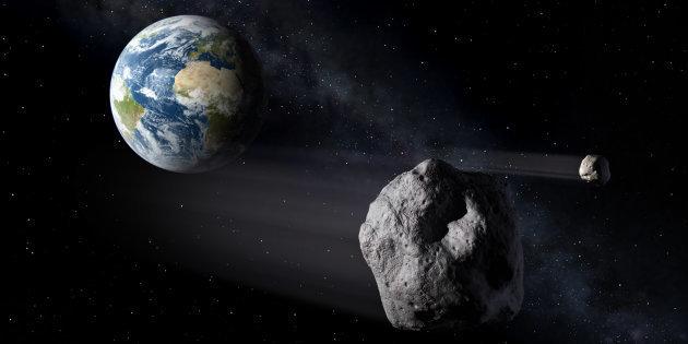 Un astéroïde, que personne n'avait repéré, a frôlé la Terre (vidéo)