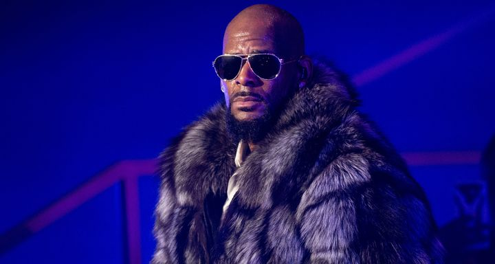 R. Kelly performs during a concert in Brooklyn on Dec. 17, 2016.