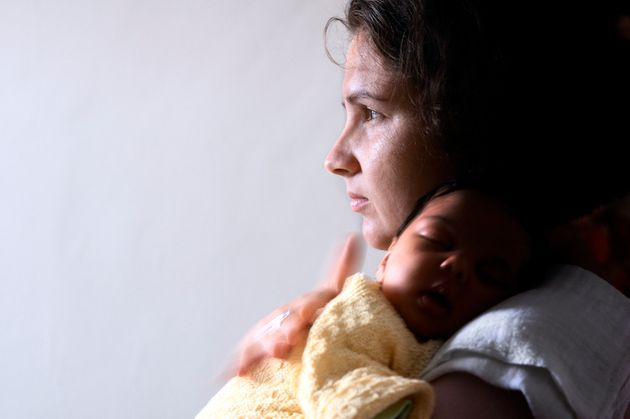 One single mother said she was forced to make huge sacrifices when her Universal Credit was docked by £500 a month for 13 weeks (file photo).