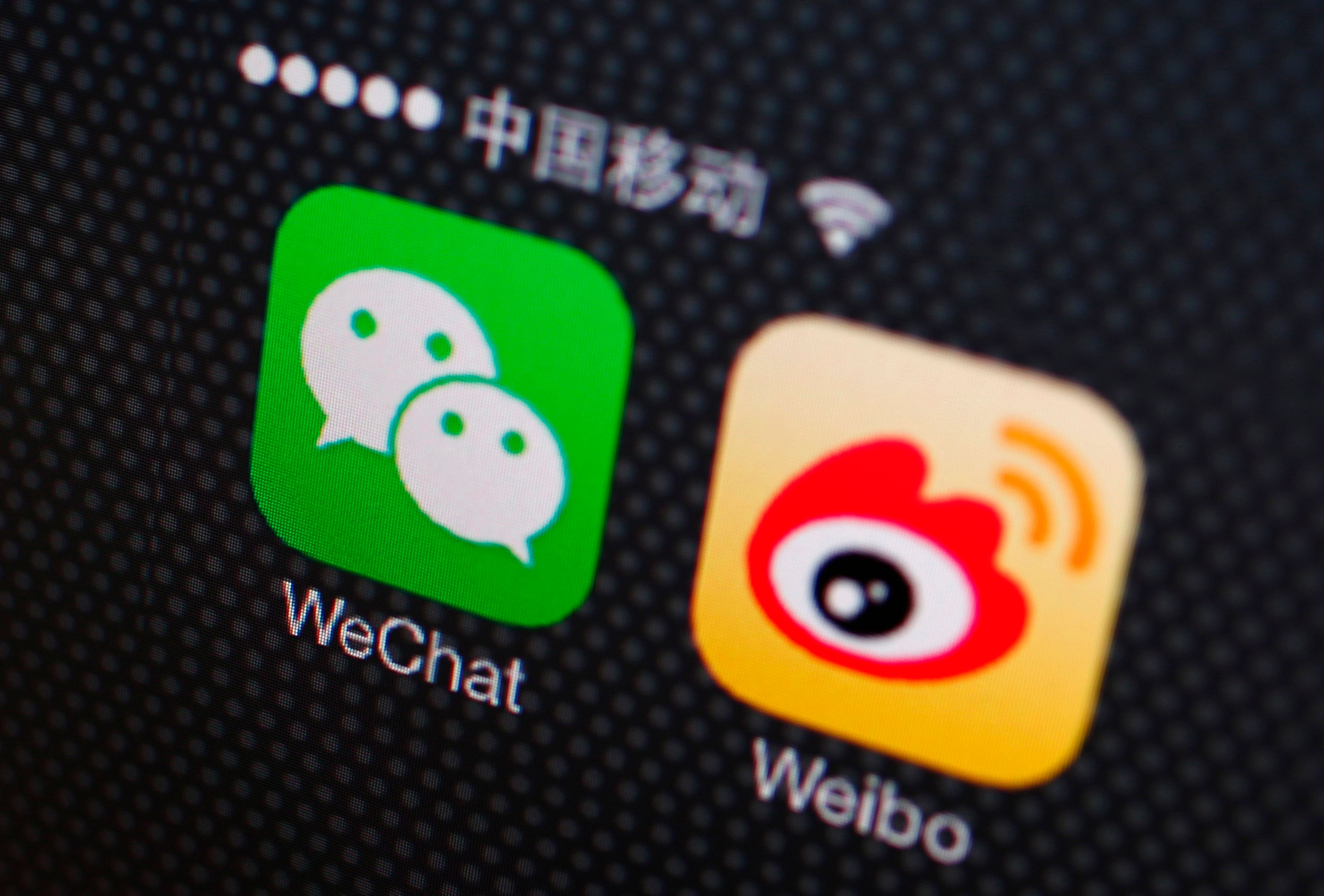 Chinese microblogging platform Weibo to remove content related to homosexuality and violence