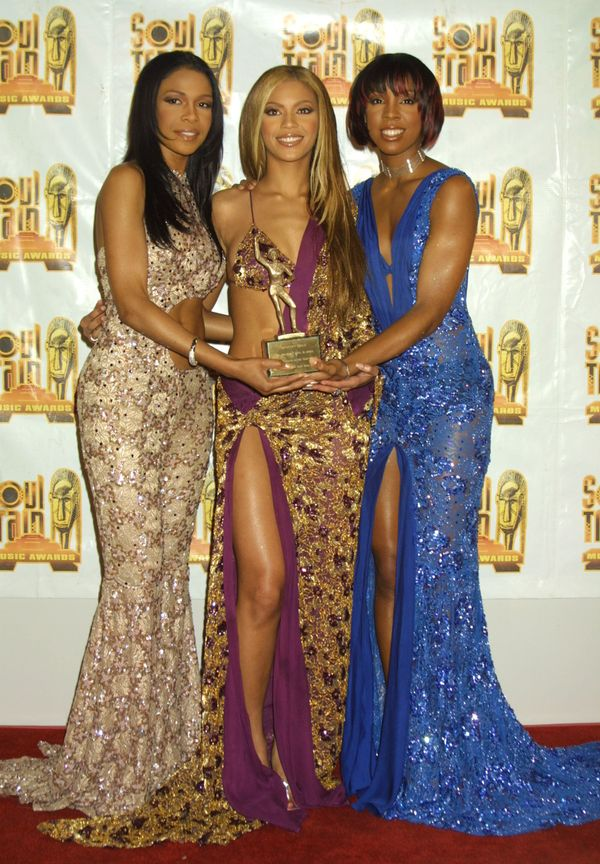 At the 15th annual Soul Train Awards at Shrine Auditorium in Los Angeles.