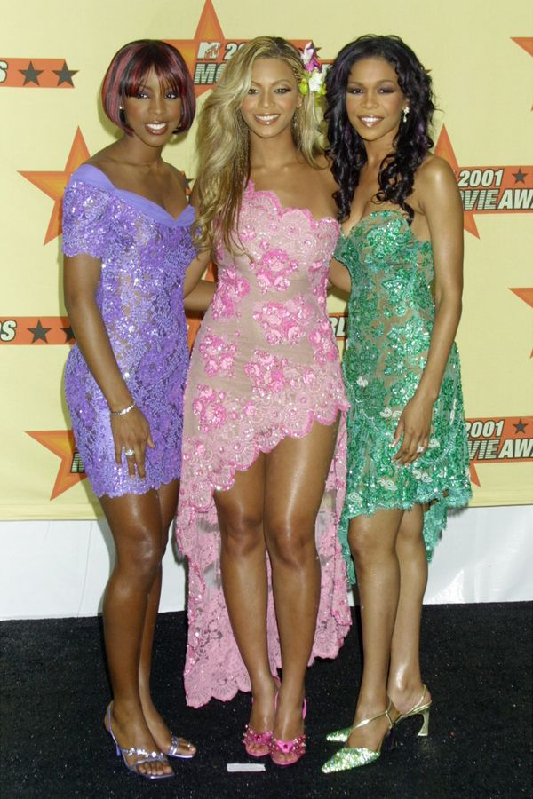 At the 2001 MTV Movie Awards in Los Angeles.