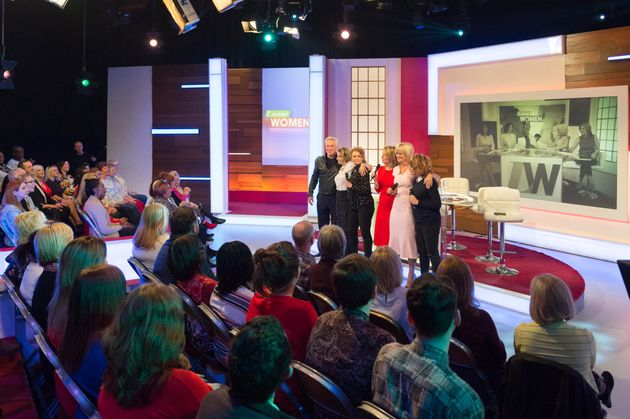 FAMILIAR: The old 'Loose Women' set up
