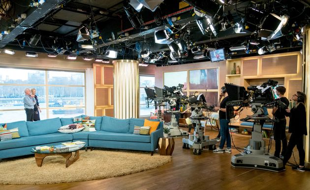 BEFORE: What 'This Morning' looked like in its previous home at The London Studios