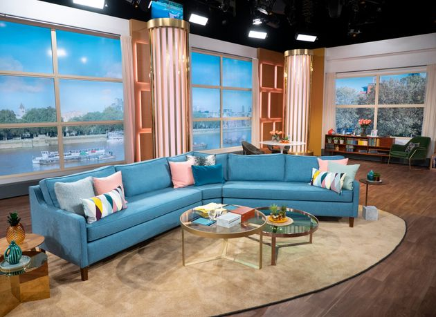 AFTER: This Morning's new set in Television Centre