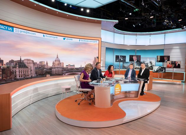 REVAMPED: 'Good Morning Britain' had a refresh thanks to the studio move