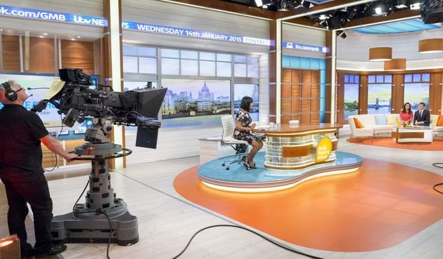 FORMER HOME: 'GMB' was filmed in Studio 5 at The London Studios