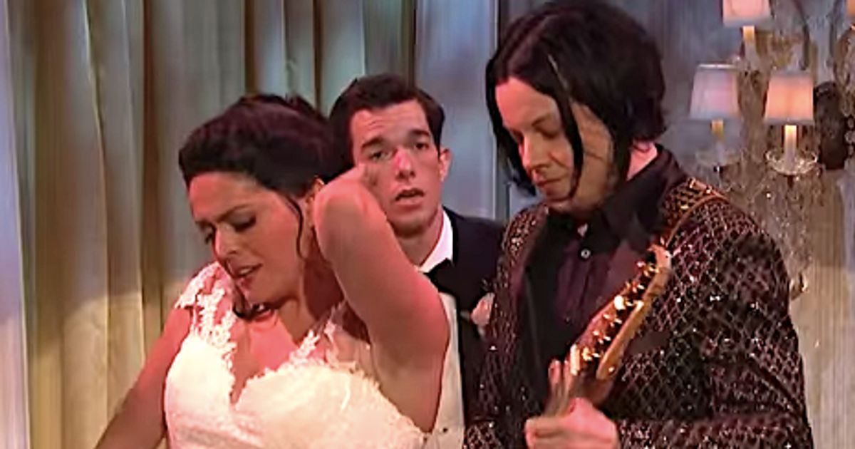 Jack White Shreds In Cut-For-Time 'SNL' Wedding Sketch