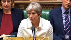 Theresa May Rolls Eyes At Jeremy Corbyn After He Accuses Her Of Bowing To The 'Whims Of The US President' Over Syria