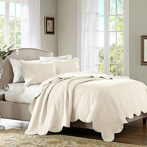 """Get it at <a href=""""https://www.bedbathandbeyond.com/store/product/madison-park-tuscany-3-piece-coverlet-set/3278728?skuId=453"""